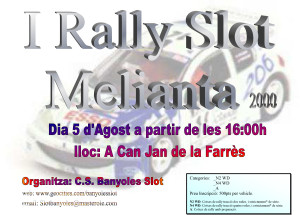 I Rally Melianta 2000
