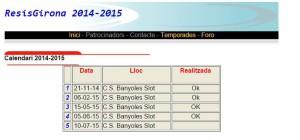 calendari Resis